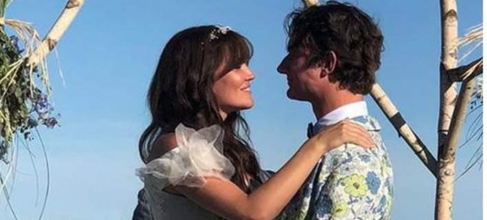 Παντρεύτηκε ο εγγονός του Ρόμπερτ Κένεντι φορώντας ένα τρελό γαμπριάτικο κοστούμι [εικόνες]