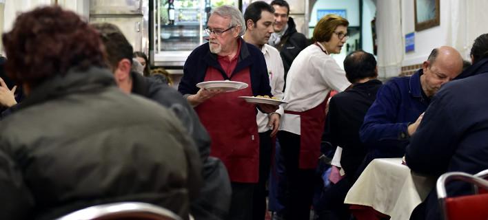 Σε αυτό το εστιατόριο το μεσημέρι τρώνε πελάτες και το βράδυ άστεγοι [εικόνα]