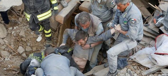 Σεισμός 6,2 Ρίχτερ στην Ιταλία -Μέχρι στιγμής 38 νεκροί και πάνω από 120 αγνοούμενοι [εικόνες & βίντεο]