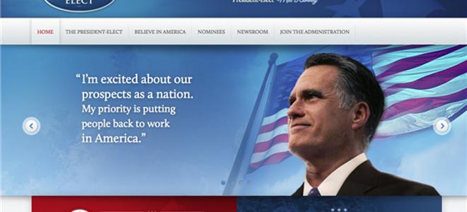 Ο Ρόμνεϊ πρόεδρος για μια ημέρα στο διαδίκτυο...κατά λάθος