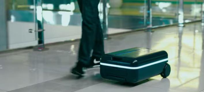 Η πρώτη ρομποτική βαλίτσα: Δεν την κουβαλάς, σε ακολουθεί [βίντεο]