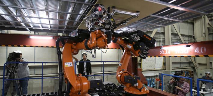 Tα ρομπότ θα σαρώσουν όλους τους κλάδους της αγοράς/Φωτογραφία: ΑΡ