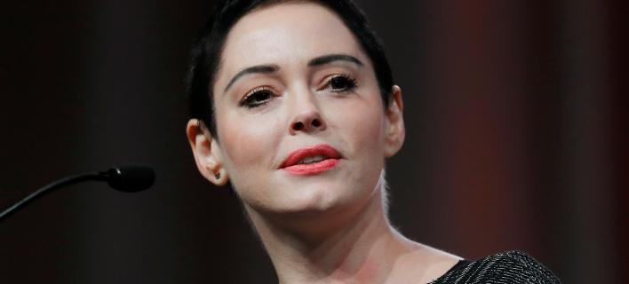 Η ηθοποιός Ρόουζ ΜακΓκόαν. Φωτογραφία: AP