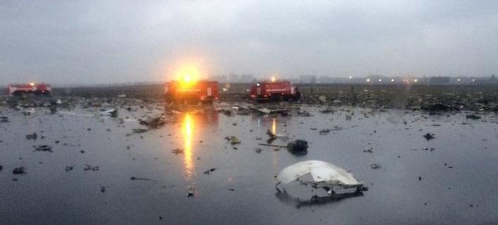 Αεροπορική τραγωδία στη Ρωσία -Συνετρίβη Boeing την ώρα της προσγείωσης [εικόνες & βίντεο]