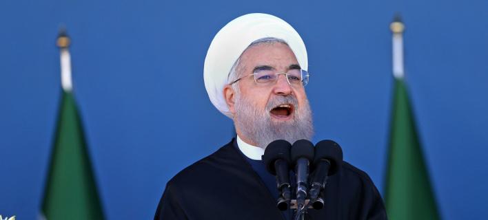 O πρόεδρος του Ιράν, Χασάν Ροχανί (Φωτογραφία: ΑΡ)