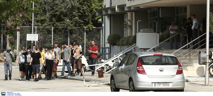 «Ντου» του Ρουβίκωνα στο υπουργείο Δικαιοσύνης / Φωτογραφία: InTime News / ΛΙΑΚΟΣ ΓΙΑΝΝΗΣ