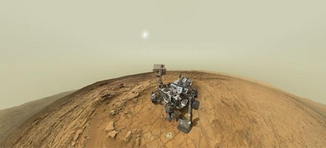 Περπατήστε στον πλανήτη Άρη παρέα με το Curiosity - Μοναδικό διαδραστικό πανόραμ