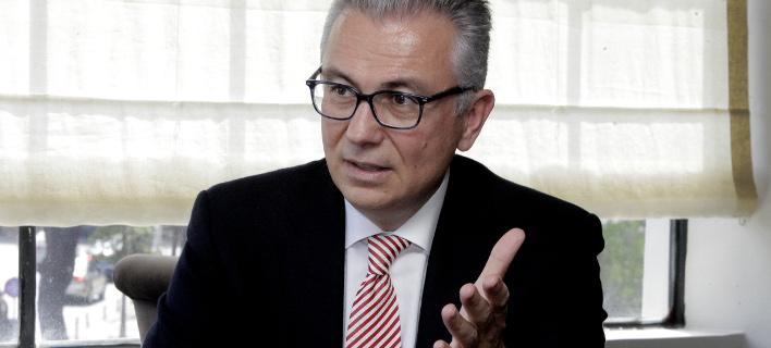 Ο Θόδωρος Ρουσόπουλος / Φωτογραφία: EUROKINISSI