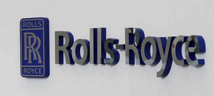 Το λογότυπο της Rolls-Royce/Φωτογραφία: AP