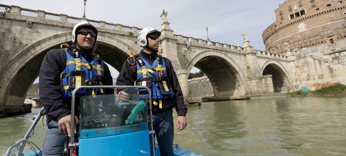 «Φρούριο» η Ρώμη για τη Σύνοδο της ΕΕ- Δρακόντεια μέτρα μετά το χτύπημα στο Λονδίνο [εικόνες]