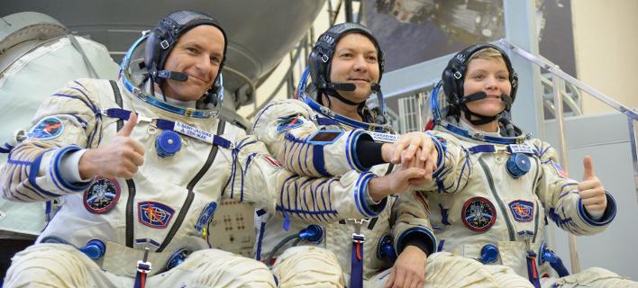 Ρώσοι αστροναύτες έτοιμοι για τον Διεθνή Διαστημικό Σταθμό / Φωτογραφία: Facebook