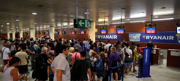 απεργία Ryanair/Φωτογραφία: AP