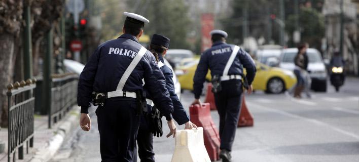 κυκλοφοριακές ρυθμίσεις/Φωτογραφία: Eurokinissi