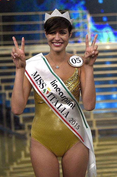 Απίστευτη γκάφα από τη Μις Ιταλία -Δήλωσε ότι θα ήθελε....[Photos]