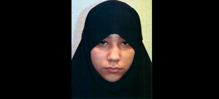 Η αδελφή της 22χρονης Ριζλάν Μπουλάρ, Σαφάα (Φωτογραφία: Metropolitan Police via AP)
