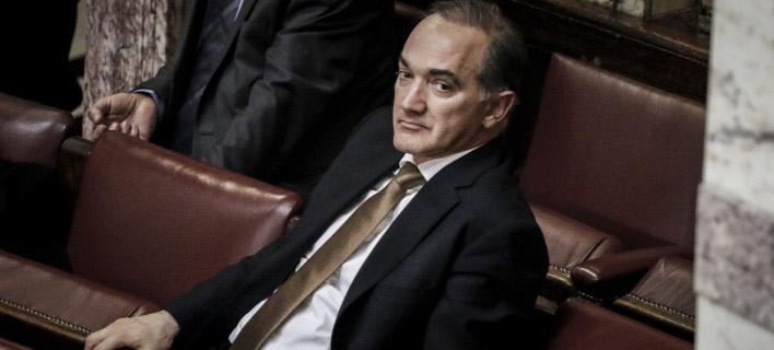 Ο Μάριος Σαλμάς (Φωτογραφία: EUROKINISSI/ΓΙΩΡΓΟΣ ΚΟΝΤΑΡΙΝΗΣ)