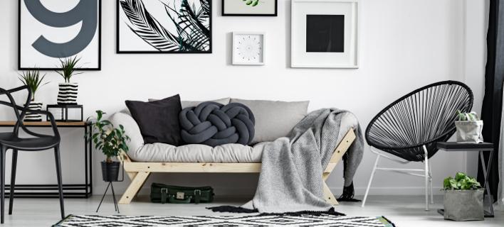 Ενα μοντέρνο σαλόνι, Φωτογραφία: Shutterstock/By Photographee.eu