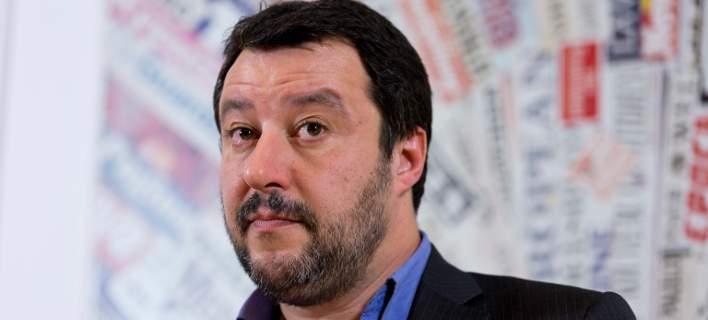 Ο υπουργός Εσωτερικών της Ιταλίας, Ματέο Σαλβίνι. Φωτογραφία: AP