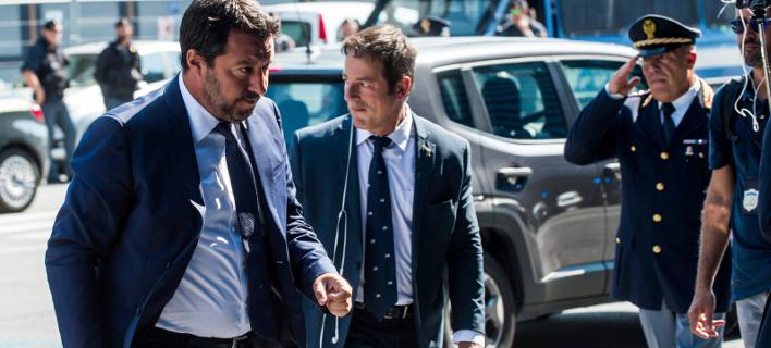 Νέες απειλές από τον Ματέο Σαλβίνι να στείλει τους μετανάστες πίσω στη Λιβύη