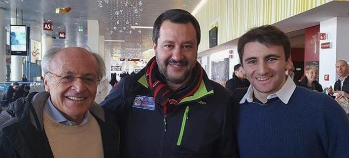 Στην Αθήνα ο Σαλβίνι για να δει το Ολυμπιακός-Μίλαν