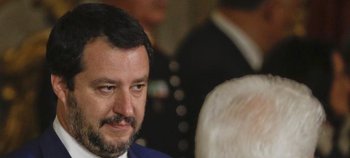 Ο Ματέο Σαλβίνι - Φωτογραφία AP images