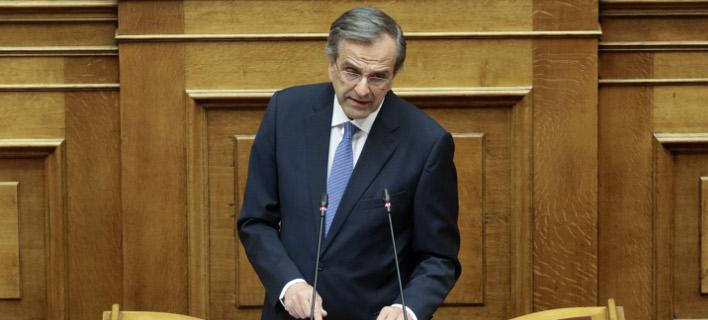 Σαμαράς: Θα κάτσω στο σκαμνί όλους τους σκευωρούς -Τσίπρας, Καμμένος, Παπαγγελόπουλος, Πολάκης δεν θα γλιτώσουν