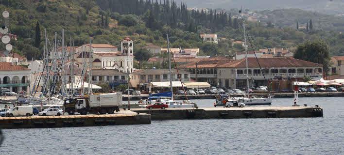 Το λιμάνι της Σάμης, στην Κεφαλονιά (Φωτογραφία: EUROKINISSI/ ΧΡΗΣΤΟΣ ΜΠΟΝΗΣ)