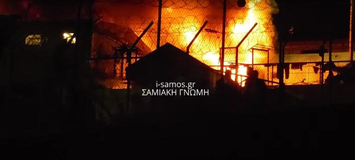 «Μάχες» μεταναστών στη Σάμο –15 τραυματίες [εικόνες & βίντεο]