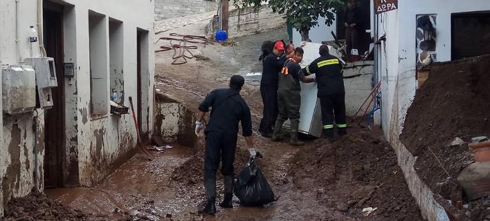 Καταστροφές πολλών δεκάδων εκατ. ευρώ στο νησί της Σαμοθράκης