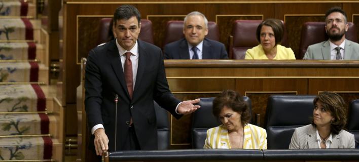 Ο Ισπανός πρωθυπουργός Πέδρο Σάντσεθ/ Φωτογραφία: AP- Andrea Comas