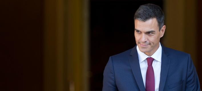 Ο πρωθυπουργός Πέδρο Σάντσεθ /Φωτογραφία: AΡ