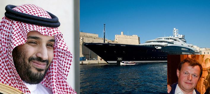 Επίδειξη πλούτου από Σαουδάραβα πρίγκιπα -Είδε το χλιδάτο γιοτ Ρώσου ολιγάρχη, το αγόρασε αμέσως και τον έδιωξε