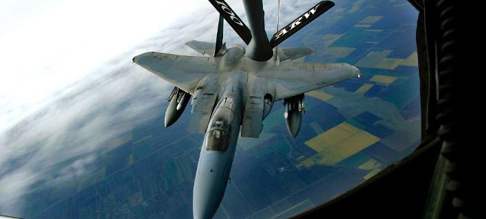 Αεροσκάφος στην Σουηδική Αραβία/ Φωτογραφία: AP