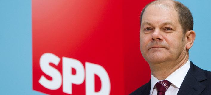 Ο Σοσιαδημοκράτης δήμαρχος του Αμβούργου, Όλαφ Σολτς (Φωτογραφία αρχείου: ΑΡ)