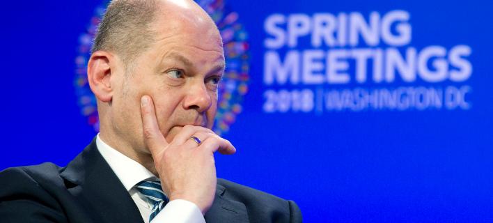 O Γερμανός υπουργός Οικονομικών, Όλαφ Σολτς (Φωτογραφία: ΑΡ)