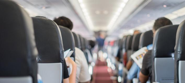 Ενα αεροπλάνο με επιβάτες, Φωτογραφία: Shutterstock