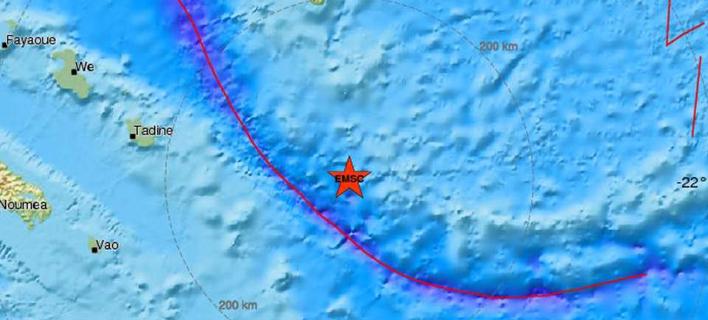 Σεισμός 7 Ρίχτερ στον Νότιο Ειρηνικό