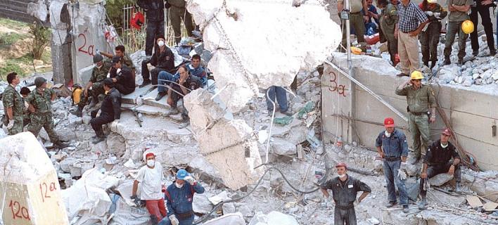 18 χρόνια από τον φονικό σεισμό της Αθήνας/ Φωτογραφία: ΑΠΕ