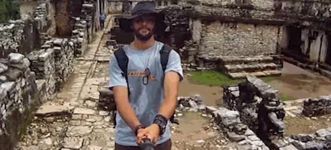 Ταξίδεψε σε όλο τον κόσμο για μία selfie: Η λήψη 360° που τρέλανε το διαδίκτυο [