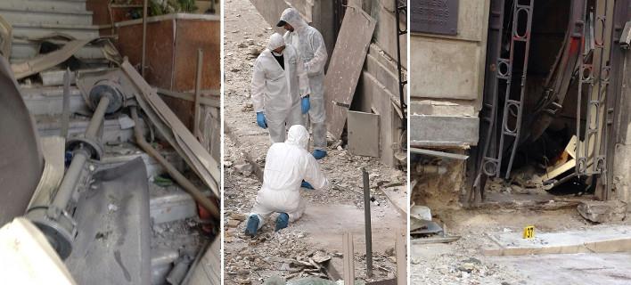 Εκρηξη βόμβας στο ΣΕΒ: Κρατήρας & μεγάλες καταστροφές -Καταδικάζουν τα κόμματα