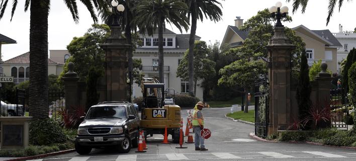 Αυτός ο «χλιδάτος» δρόμος του Σαν Φρανσίσκο ανήκει πλέον σε ένα ζευγάρι (Φωτογραφία: AP/ Marcio Jose Sanchez)
