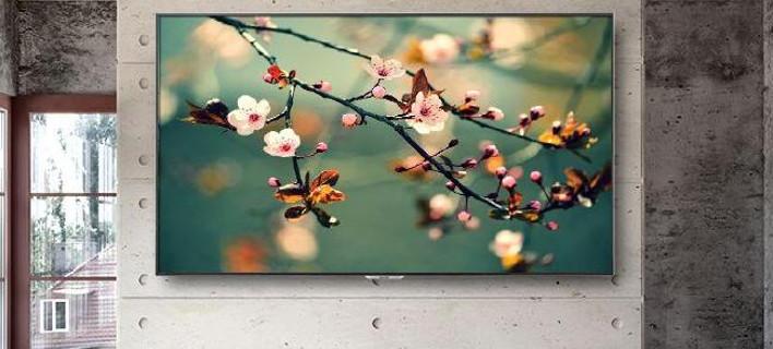 Η Sharp τηλεόραση με την υπερ-υψηλή ανάλυση 8Κ -«Διαστημική» εικόνα