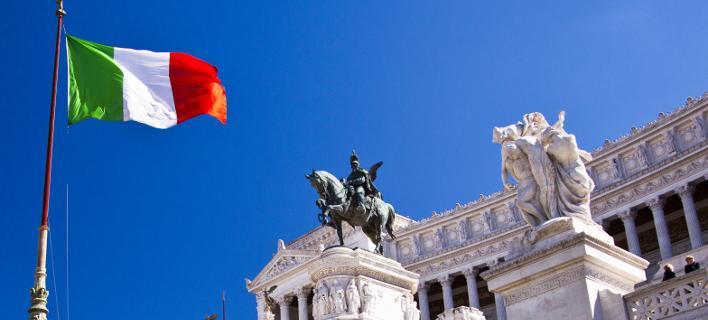 Σημαία Ιταλίας /Φωτογραφία shutterstock