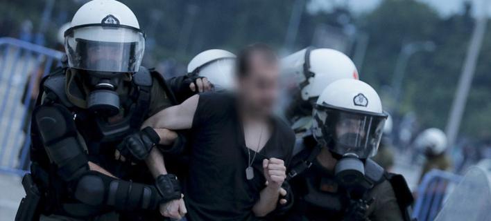 Επεισόδια στην Θεσσαλονίκη/ Φωτογραφία:INTIME NEWS
