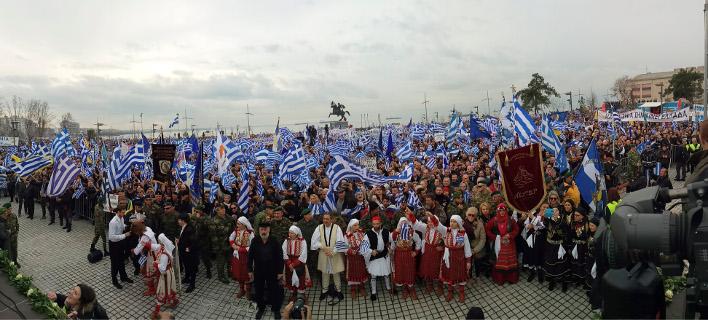 Συλλαλητήριο: Στην Ερμού η εξέδρα, ομιλητές Μίκης, Κασιμάτης και τρεις Μητροπολίτες