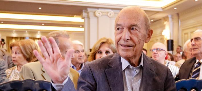 Ο πρώην πρωθυπουργός Κώστας Σημίτης- φωτογραφία Γ. Κονταρίνης, eurokinissi