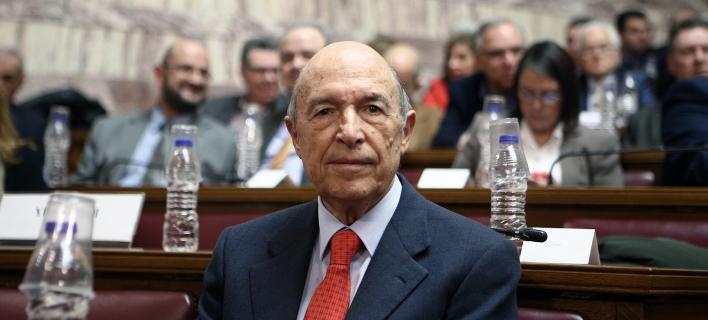 Ο πρώην πρωθυπουργός Κώστας Σημίτης- φωτογραφία sooc.gr