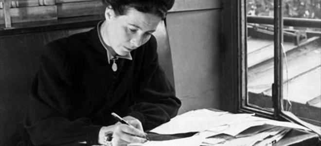 Η Google τιμά τη Σιμόν ντε Μποβουάρ - Doodle για τα 106 χρόνια από τη γέννηση τη