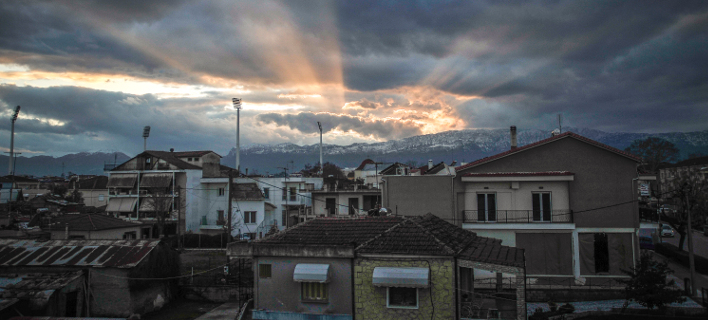 Συννεφιά στ Τρίκαλα: Φωτογραφία: Eurokinissi- ΚΑΛΛΙΑΡΑΣ ΘΑΝΑΣΗΣ