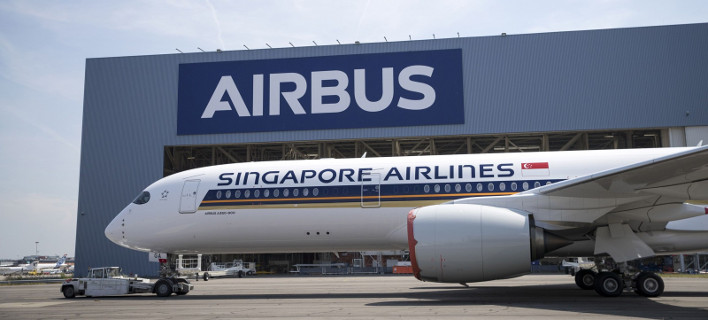 Το Airbus πραγματοποίησε την πτήση Σιγκαπούρη-Νέα Υόρκη, Φωτογραφία: Singapore Airlines